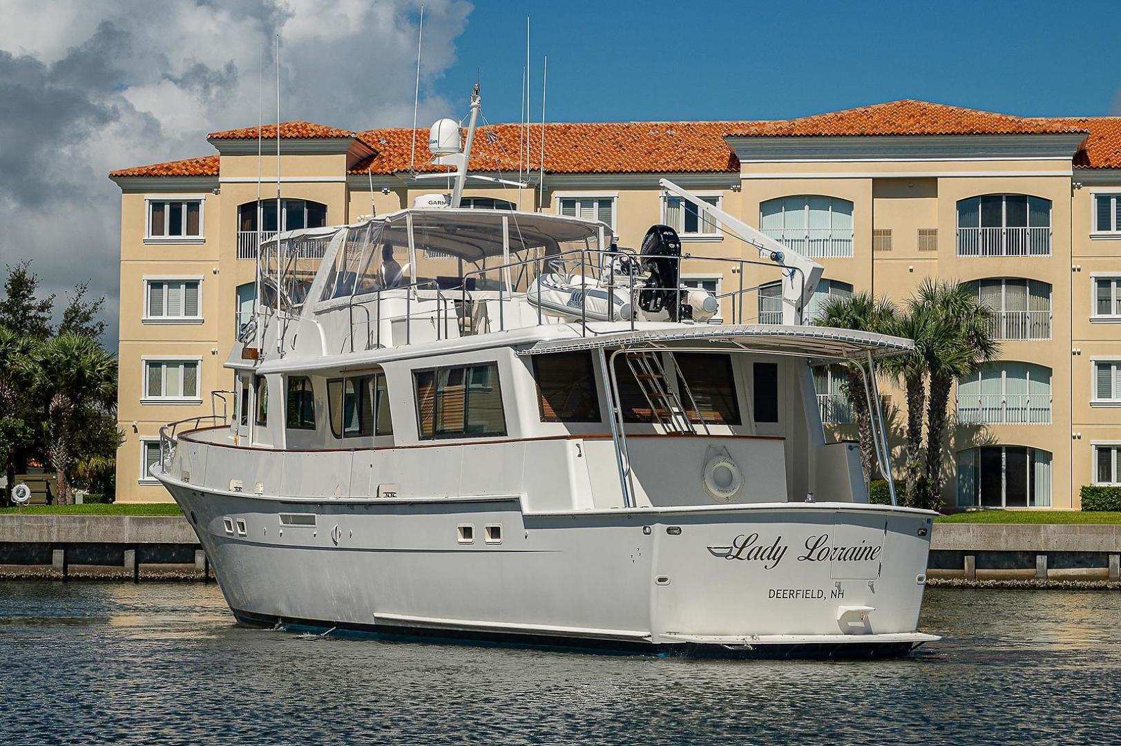 Hatteras-Long Range Cruiser 1986-Lady Lorraine Fort Pierce-Florida-United States-1474963   Thumbnail
