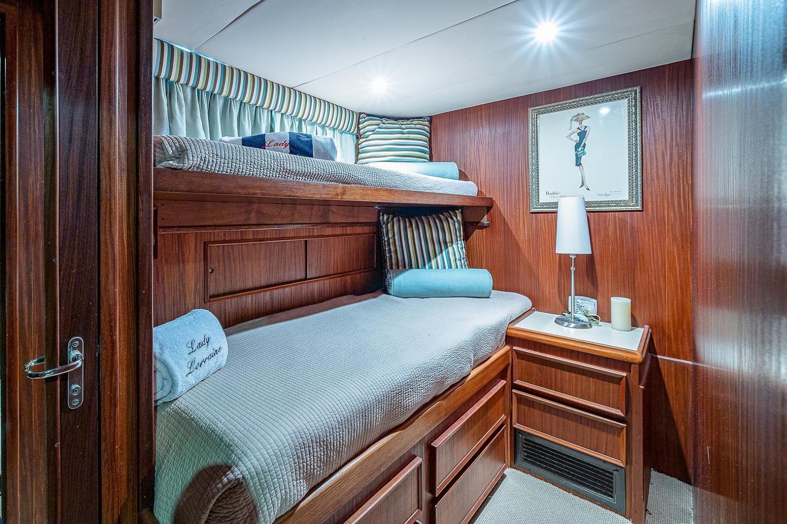 Hatteras-Long Range Cruiser 1986-Lady Lorraine Fort Pierce-Florida-United States-1474874   Thumbnail