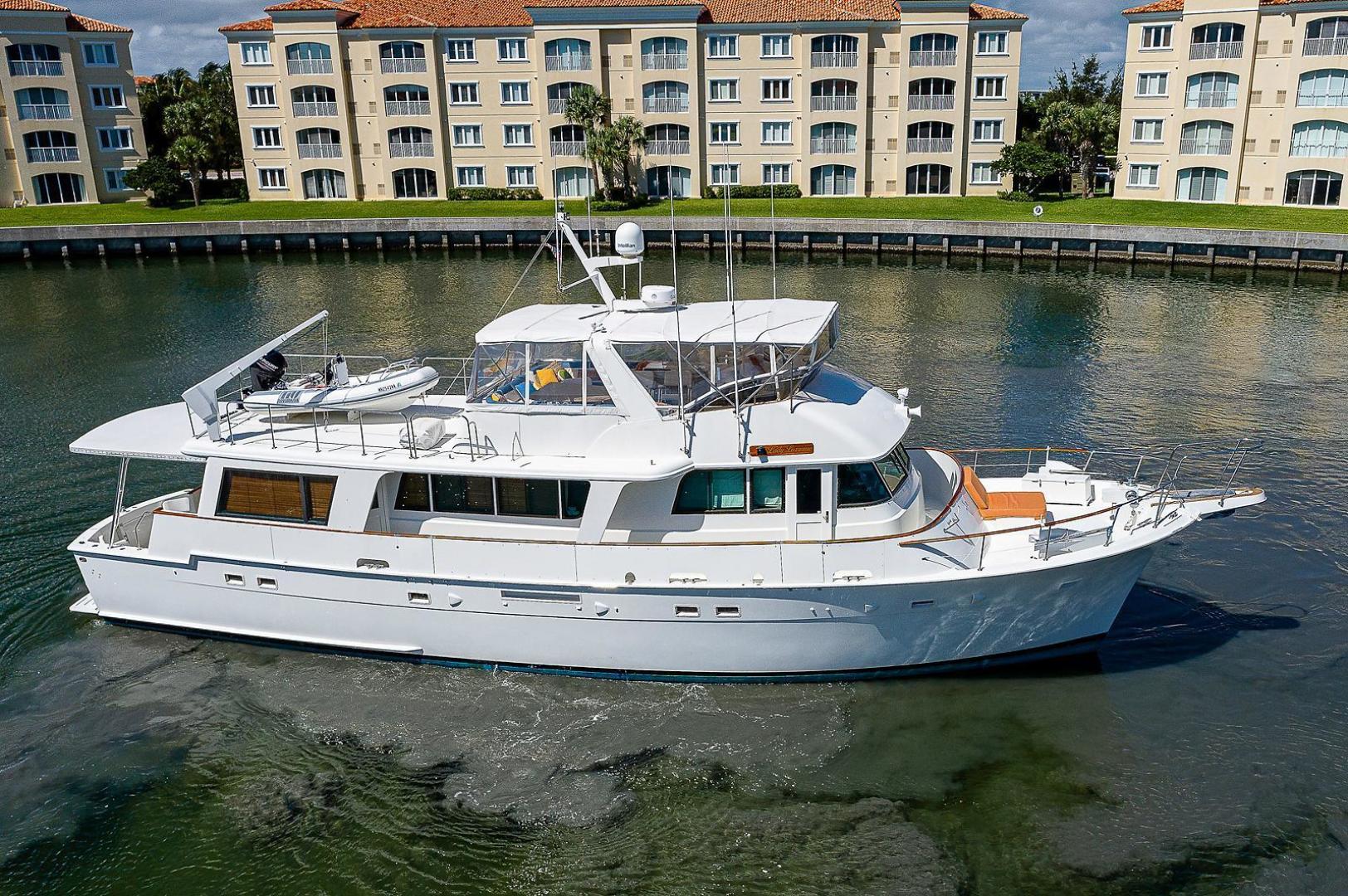 Hatteras-Long Range Cruiser 1986-Lady Lorraine Fort Pierce-Florida-United States-1474837   Thumbnail