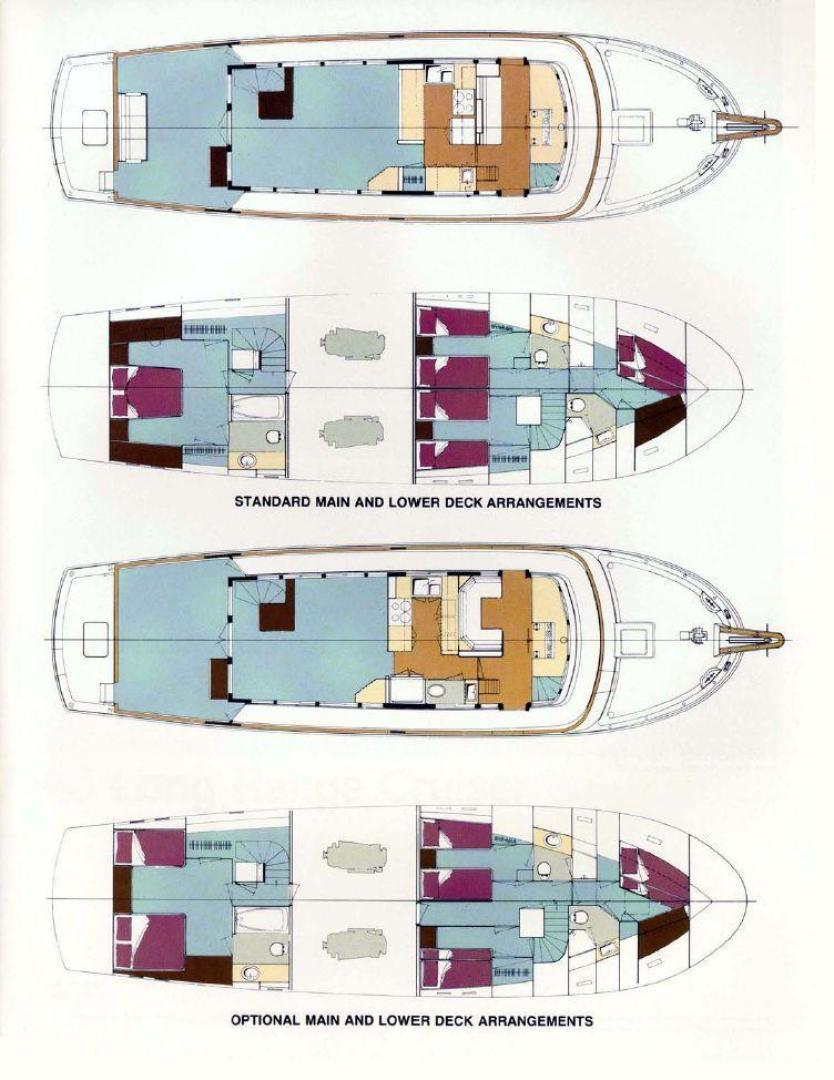 Hatteras-Long Range Cruiser 1986-Lady Lorraine Fort Pierce-Florida-United States-1474886   Thumbnail
