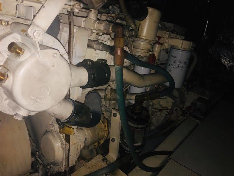 Hatteras-Cockpit Motor Yacht 1995-EZ2NJOY Madisonville-Louisiana-United States-1509239   Thumbnail