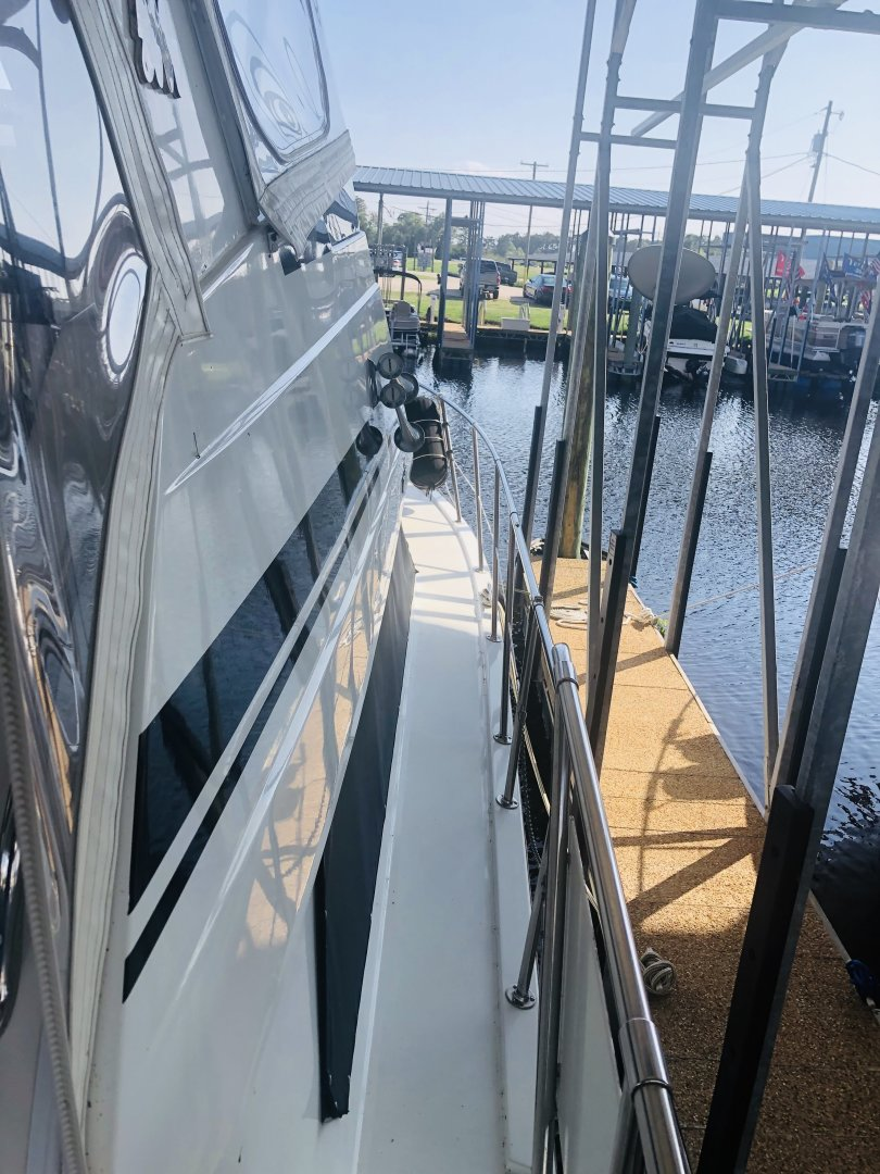 Hatteras-Cockpit Motor Yacht 1995-EZ2NJOY Madisonville-Louisiana-United States-1509158   Thumbnail