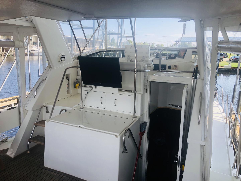 Hatteras-Cockpit Motor Yacht 1995-EZ2NJOY Madisonville-Louisiana-United States-1509272   Thumbnail