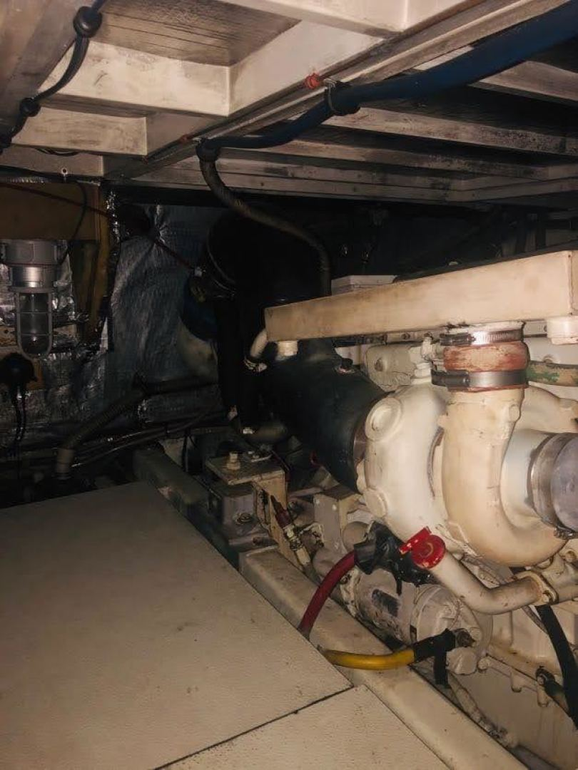 Hatteras-Cockpit Motor Yacht 1995-EZ2NJOY Madisonville-Louisiana-United States-1509245   Thumbnail