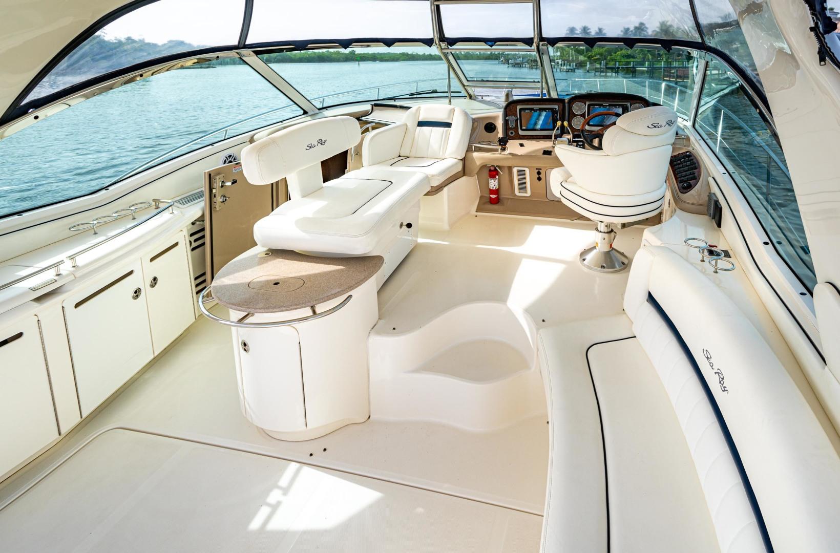 Sea Ray-Sundancer 2005-EXECUTIVE FUNCTION Jupiter-Florida-United States-Pilothouse-1481974 | Thumbnail