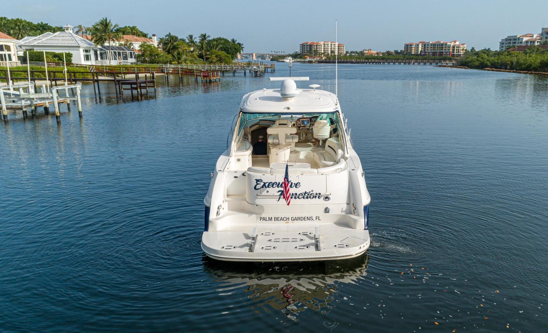 Sea Ray-Sundancer 2005-EXECUTIVE FUNCTION Jupiter-Florida-United States-Stern-1481970 | Thumbnail