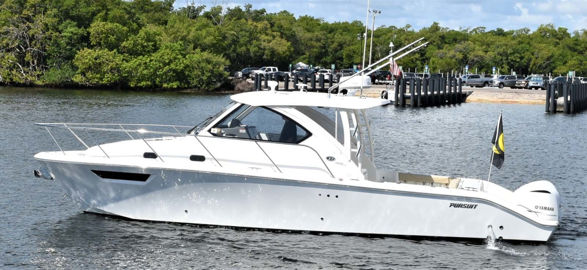 Pursuit-325 Offshore 2020-Coo Coo Miami-Florida-United States-Port Profile-1475271 | Thumbnail