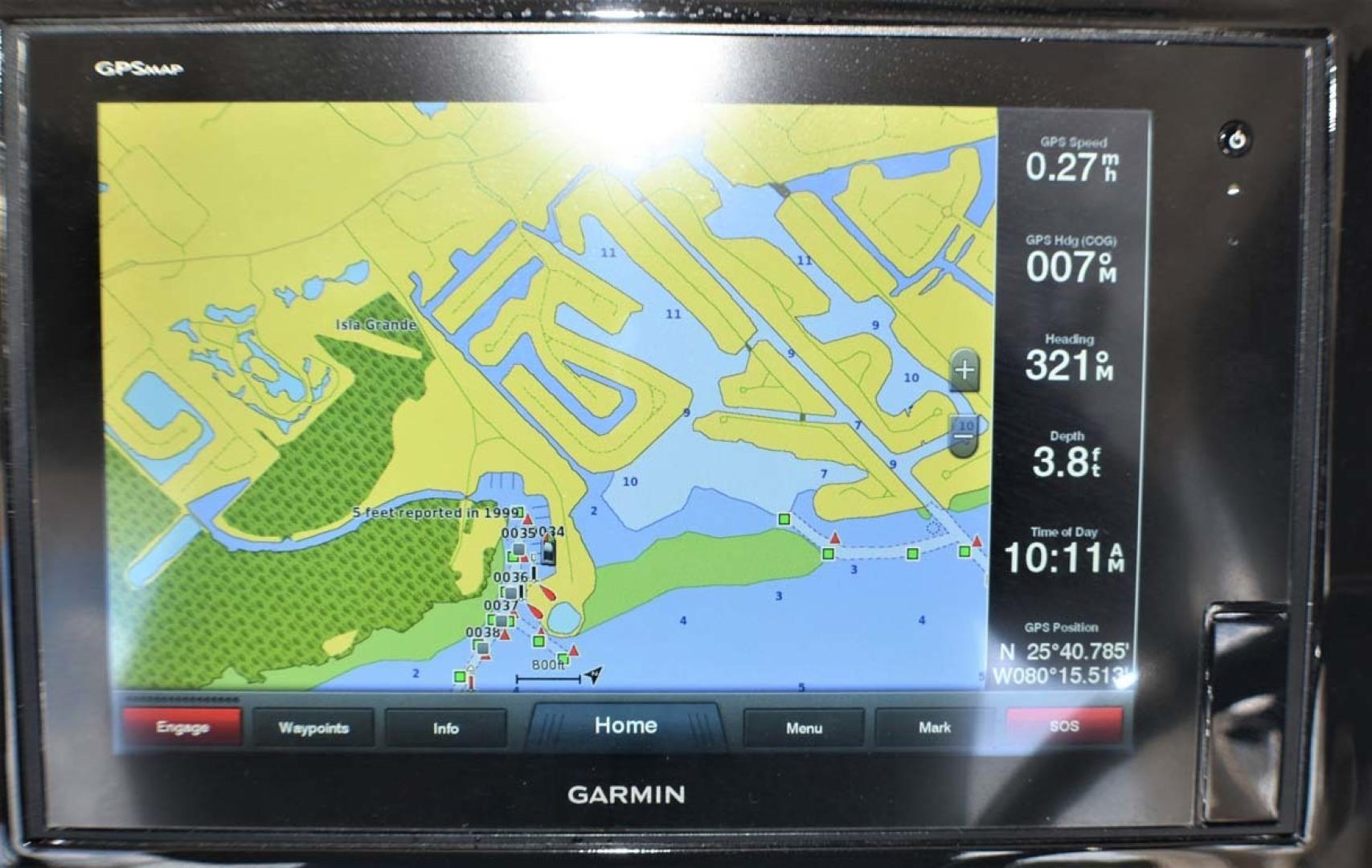 Pursuit-325 Offshore 2020-Coo Coo Miami-Florida-United States-Garmin XSV (L)-1475292 | Thumbnail