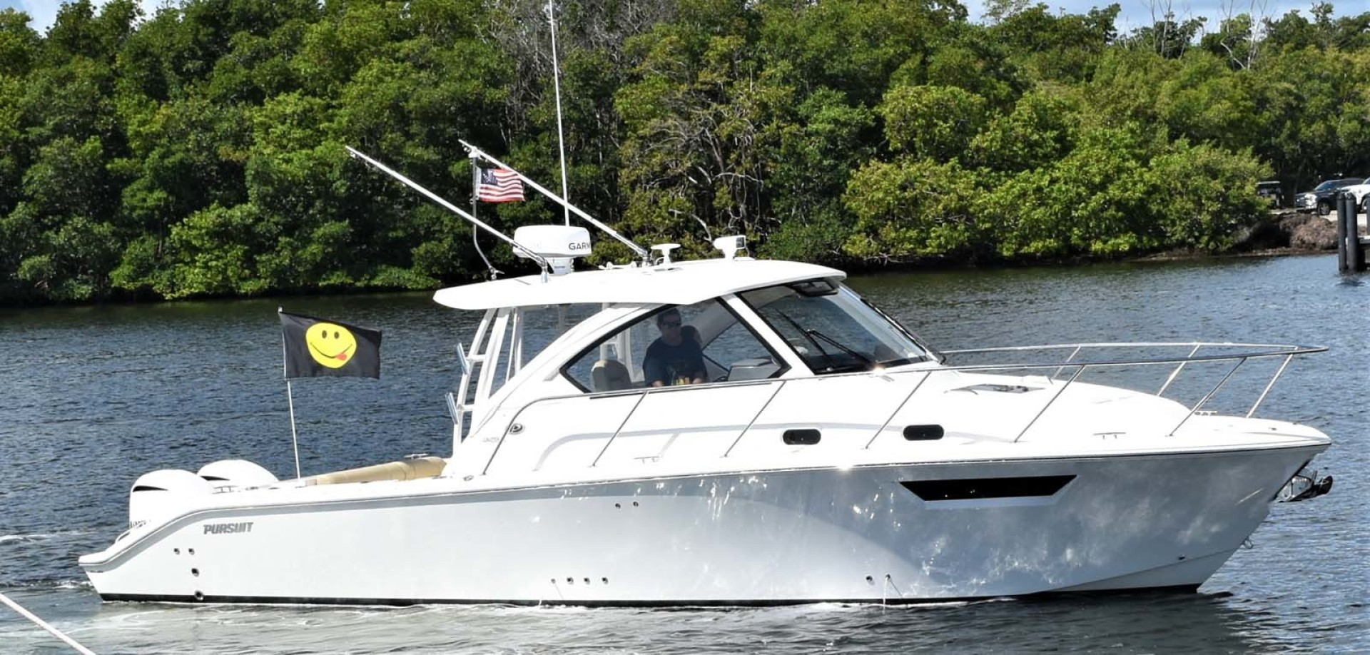 Pursuit-325 Offshore 2020-Coo Coo Miami-Florida-United States-Starboard Profile-1475269 | Thumbnail