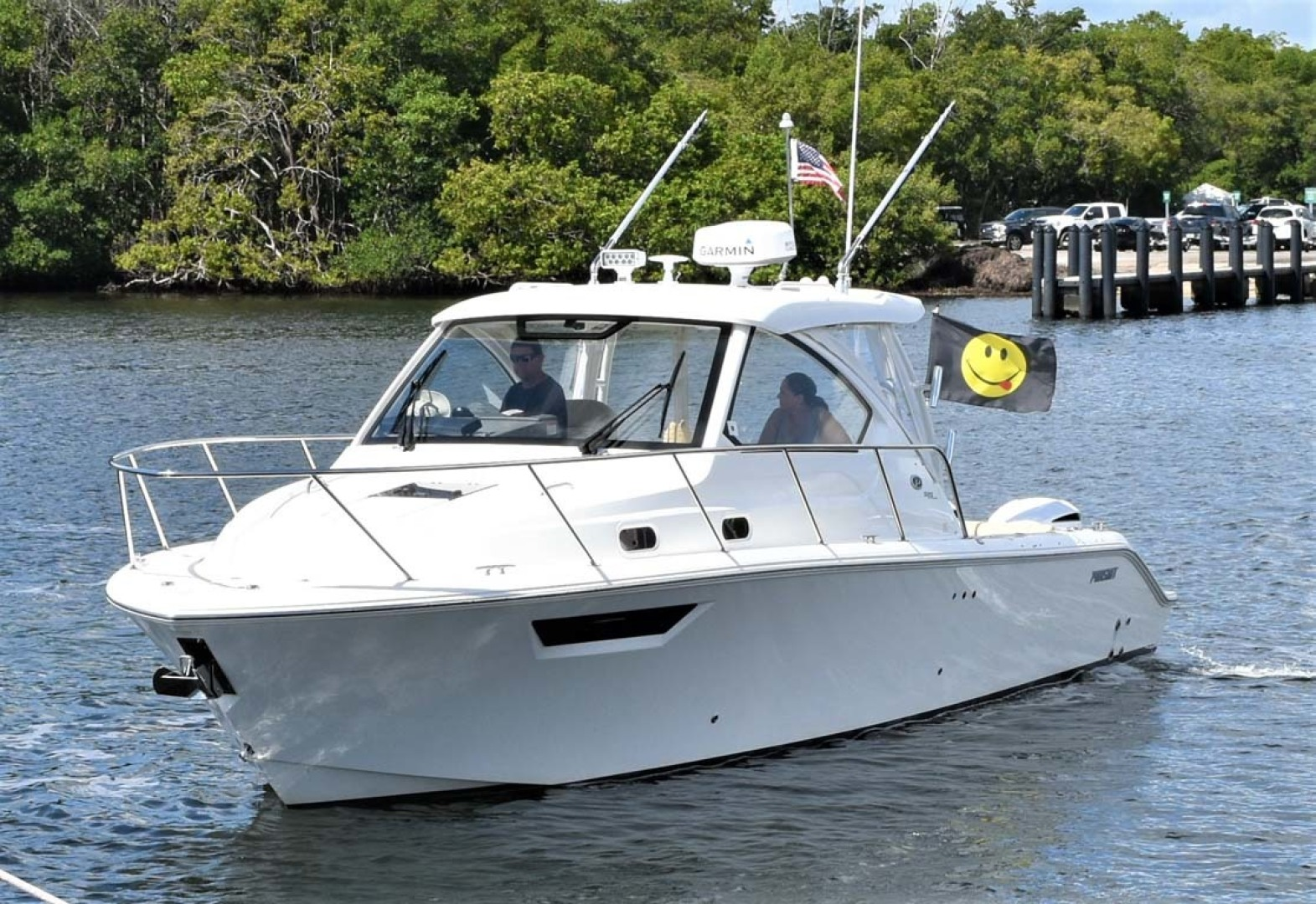 Pursuit-325 Offshore 2020-Coo Coo Miami-Florida-United States-Port Bow View-1475280 | Thumbnail