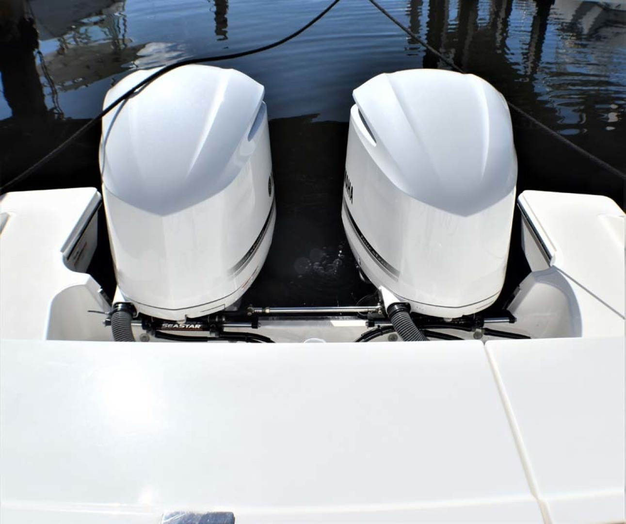 Pursuit-325 Offshore 2020-Coo Coo Miami-Florida-United States-Front of Engine Cowls-1475308 | Thumbnail