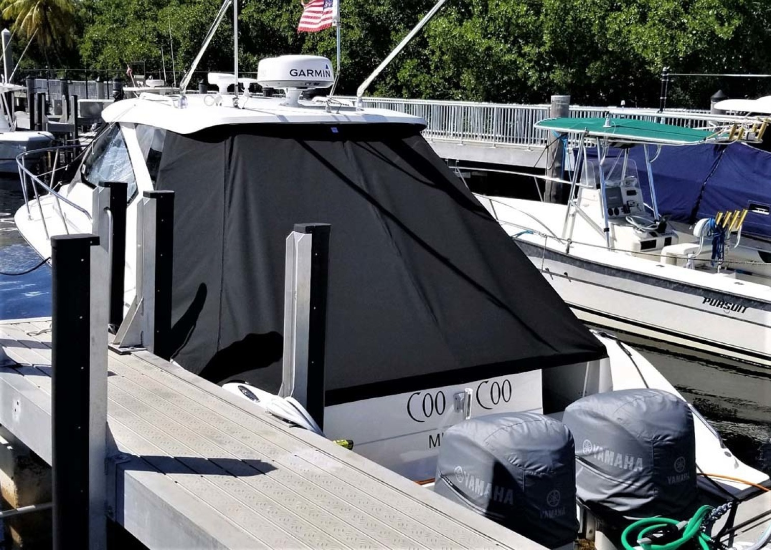 Pursuit-325 Offshore 2020-Coo Coo Miami-Florida-United States-Cockpit Cover-1475310 | Thumbnail