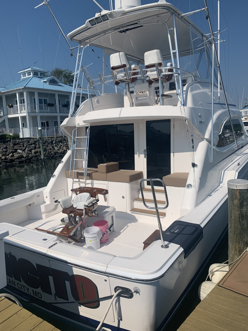Bertram-510 Convertible 2008-RONCITO Ocean City-Maryland-United States-2008 Bertram 51 Sportfish Cockpit-1487477 | Thumbnail
