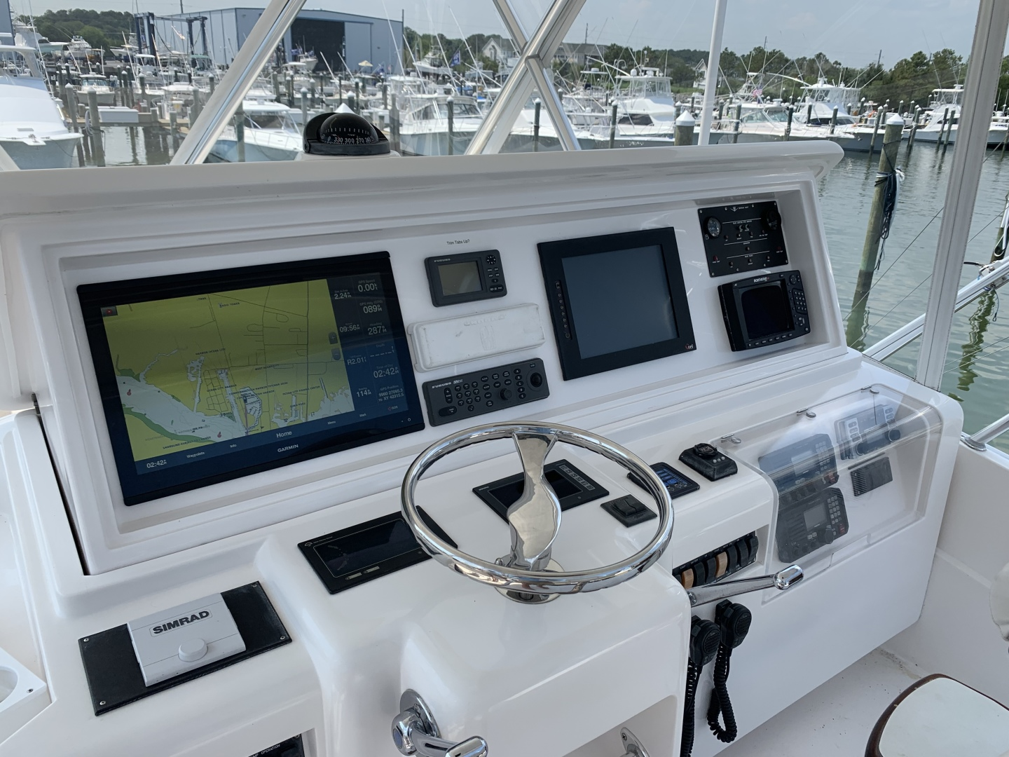 Bertram-510 Convertible 2008-RONCITO Ocean City-Maryland-United States-2008 Bertram 51 Sportfish Helm-1487468 | Thumbnail