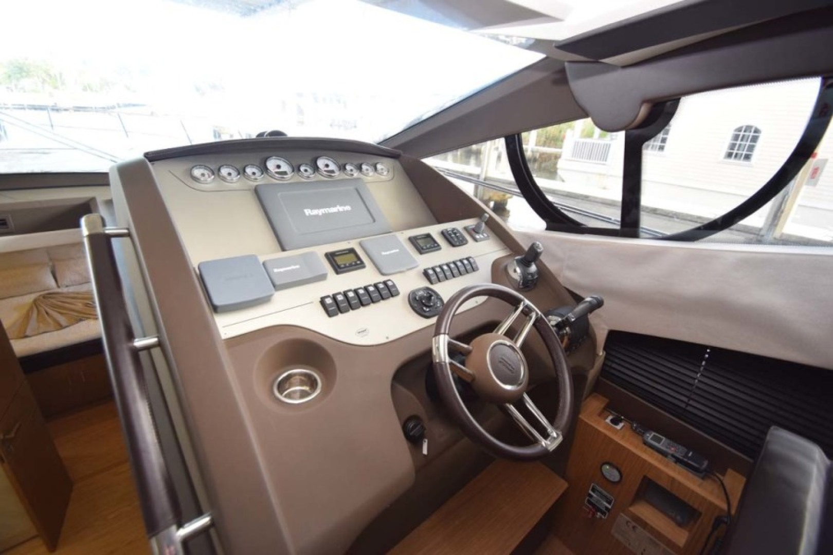 Sessa-C54 Express 2011 -Lighthouse Point-Florida-United States-Helm to Starboard-1477115 | Thumbnail