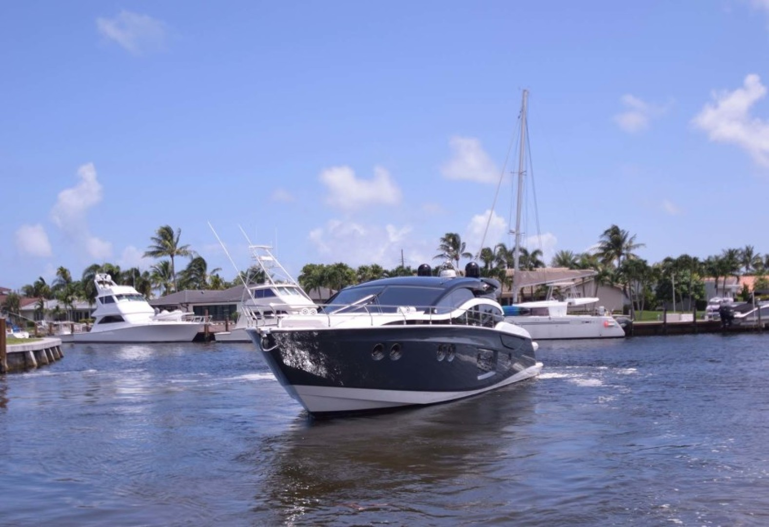 Sessa-C54 Express 2011 -Lighthouse Point-Florida-United States-Port Bow-1477128 | Thumbnail
