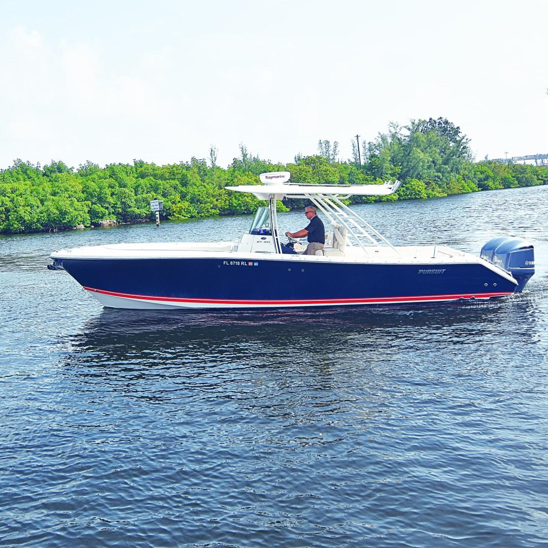 Pursuit-310 ST 2012-Gloriana III Fort Lauderdale-United States-Profile-1478559 | Thumbnail