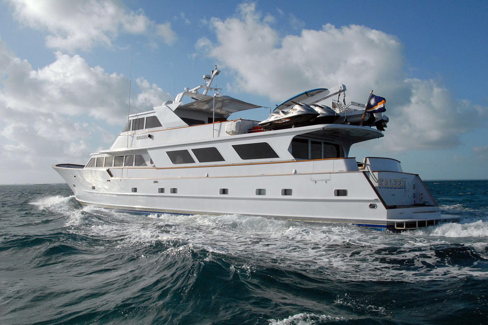 Broward-Motor Yacht 110 Pilothouse 1983-KALEEN Cole Bay-Sint Maarten (Dutch Part)-1482824 | Thumbnail