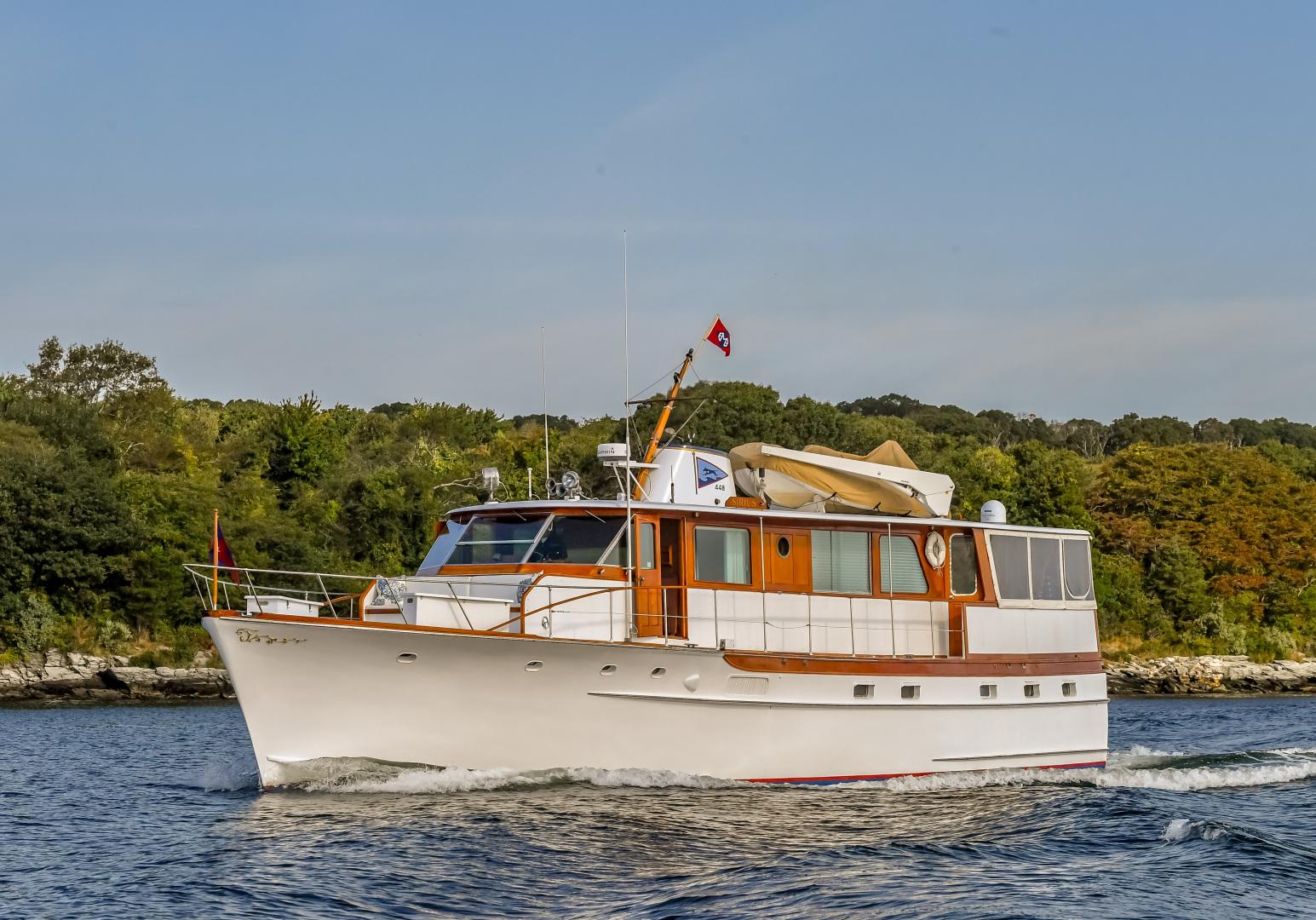 "1973 Trumpy 60' Houseboat ""SIRIUS"""