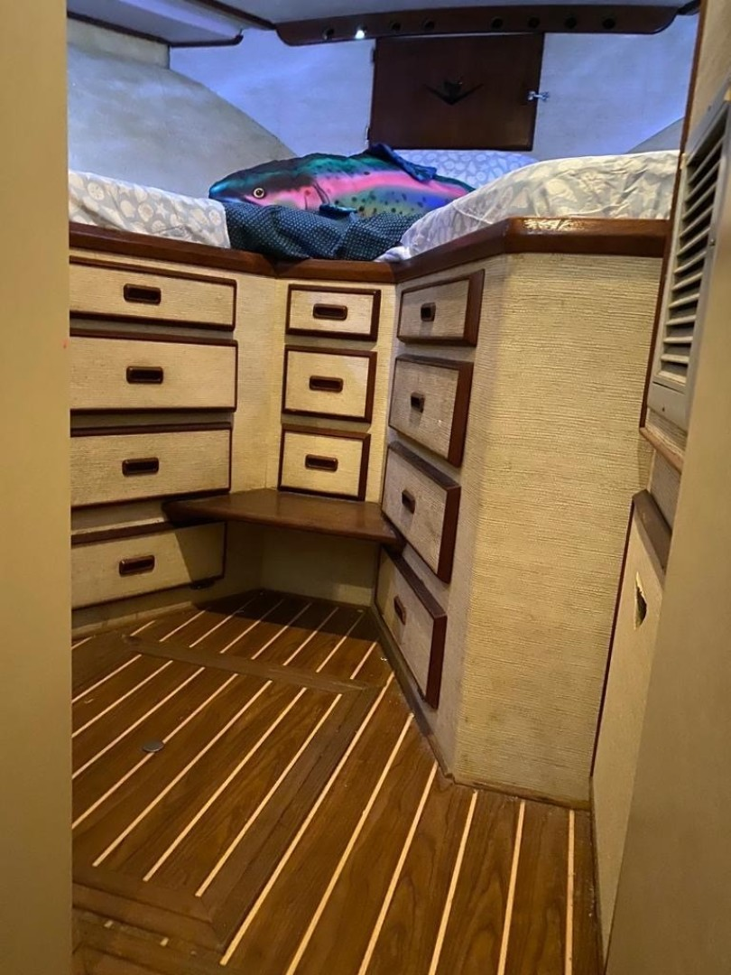 Bertram-Convertible 1983-MD on Board Miami-Florida-United States-07.1 Guest From Door Storage-1480026   Thumbnail
