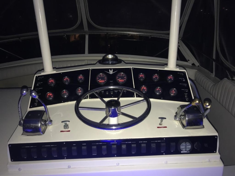 Bertram-Convertible 1983-MD on Board Miami-Florida-United States-32 At Night Helm-1480038   Thumbnail