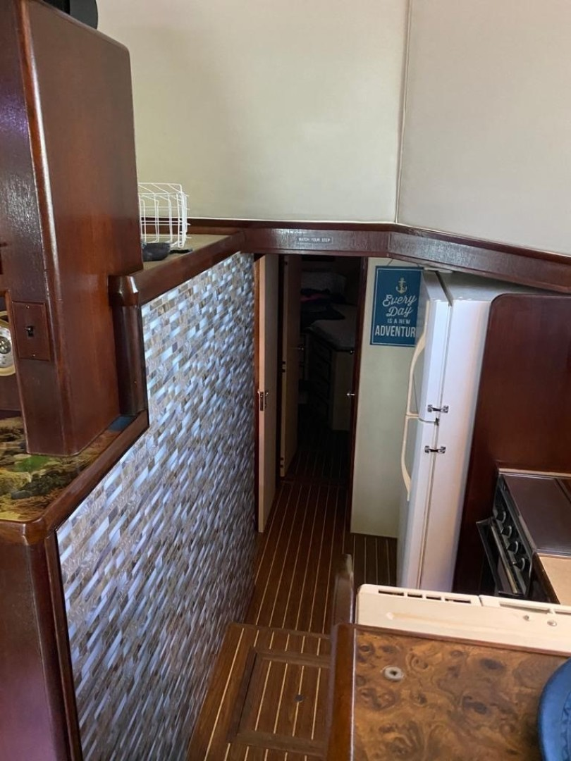Bertram-Convertible 1983-MD on Board Miami-Florida-United States-04.2 Galley Top Of Stairs-1480016   Thumbnail