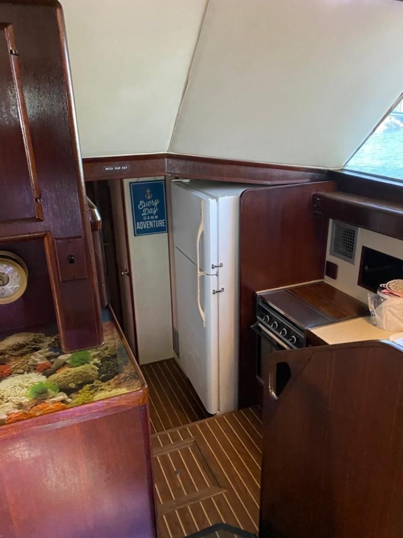 Bertram-Convertible 1983-MD on Board Miami-Florida-United States-65 Galley From Stairs-1480049   Thumbnail