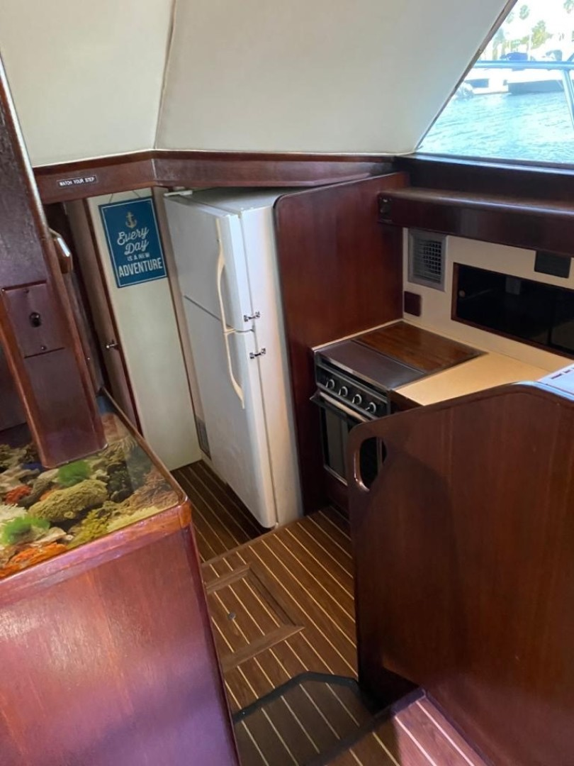 Bertram-Convertible 1983-MD on Board Miami-Florida-United States-04 Galley From Stairs Best-1480015   Thumbnail