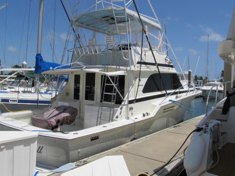 Bertram-Convertible 1983-MD on Board Miami-Florida-United States-40 Docked-1480042   Thumbnail