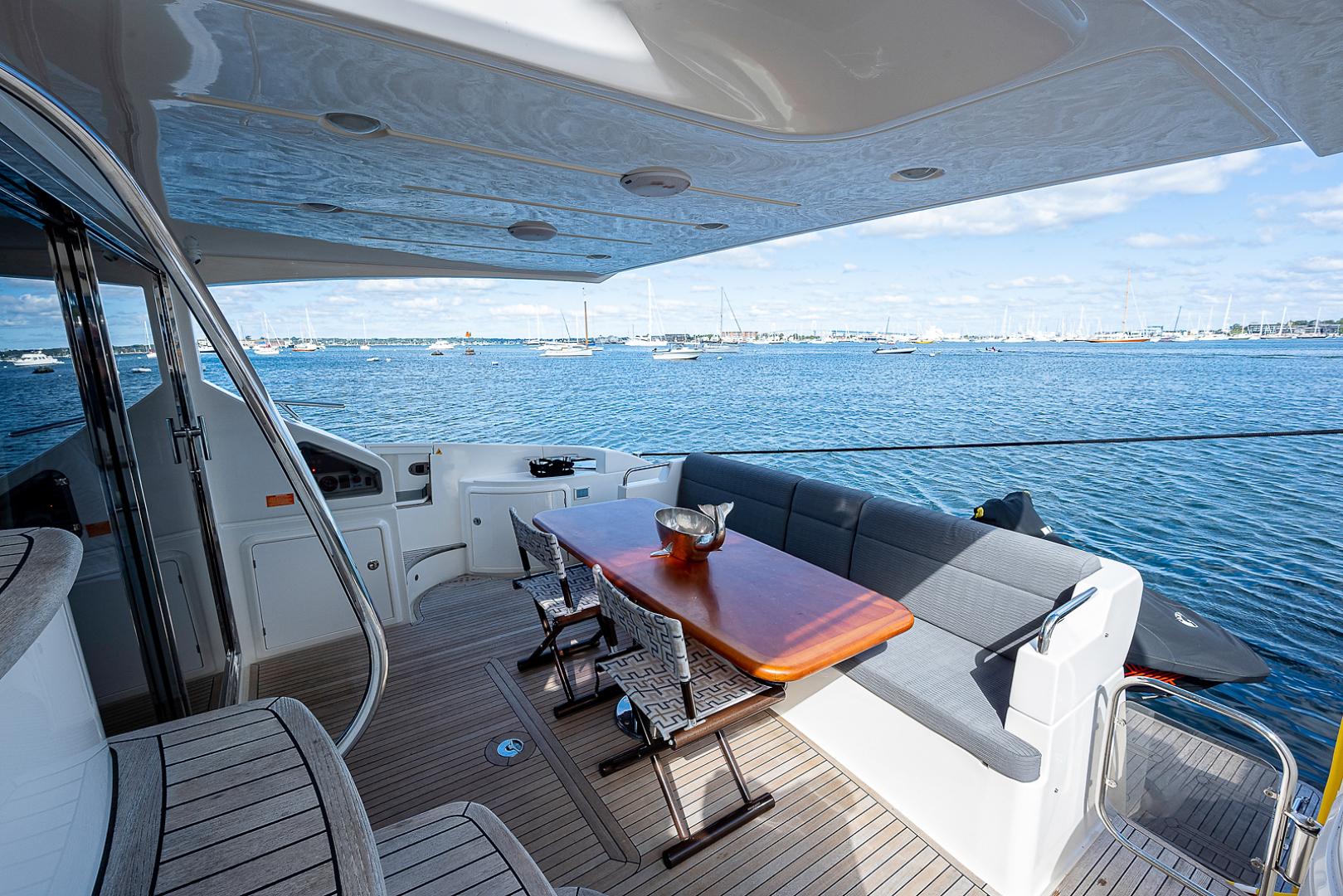 Azimut-58 Fly Motor Yacht 2011-Nova Fort Lauderdale-Florida-United States-58_azimut_nova__aft_deck15-1490486 | Thumbnail