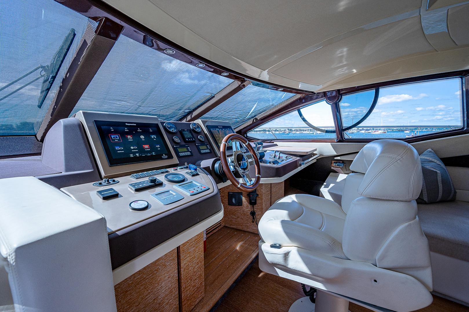 Azimut-58 Fly Motor Yacht 2011-Nova Fort Lauderdale-Florida-United States-58_azimut_nova__helm12-1490537 | Thumbnail