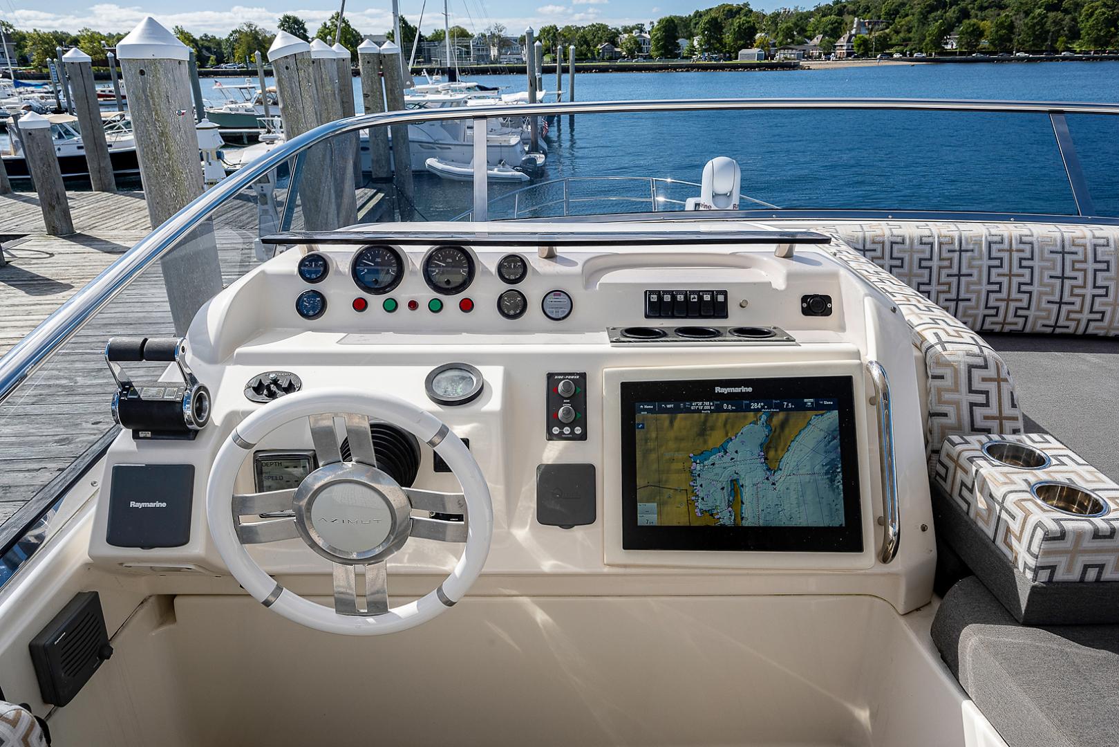 Azimut-58 Fly Motor Yacht 2011-Nova Fort Lauderdale-Florida-United States-58_azimut_nova__flybridge32-1490517 | Thumbnail