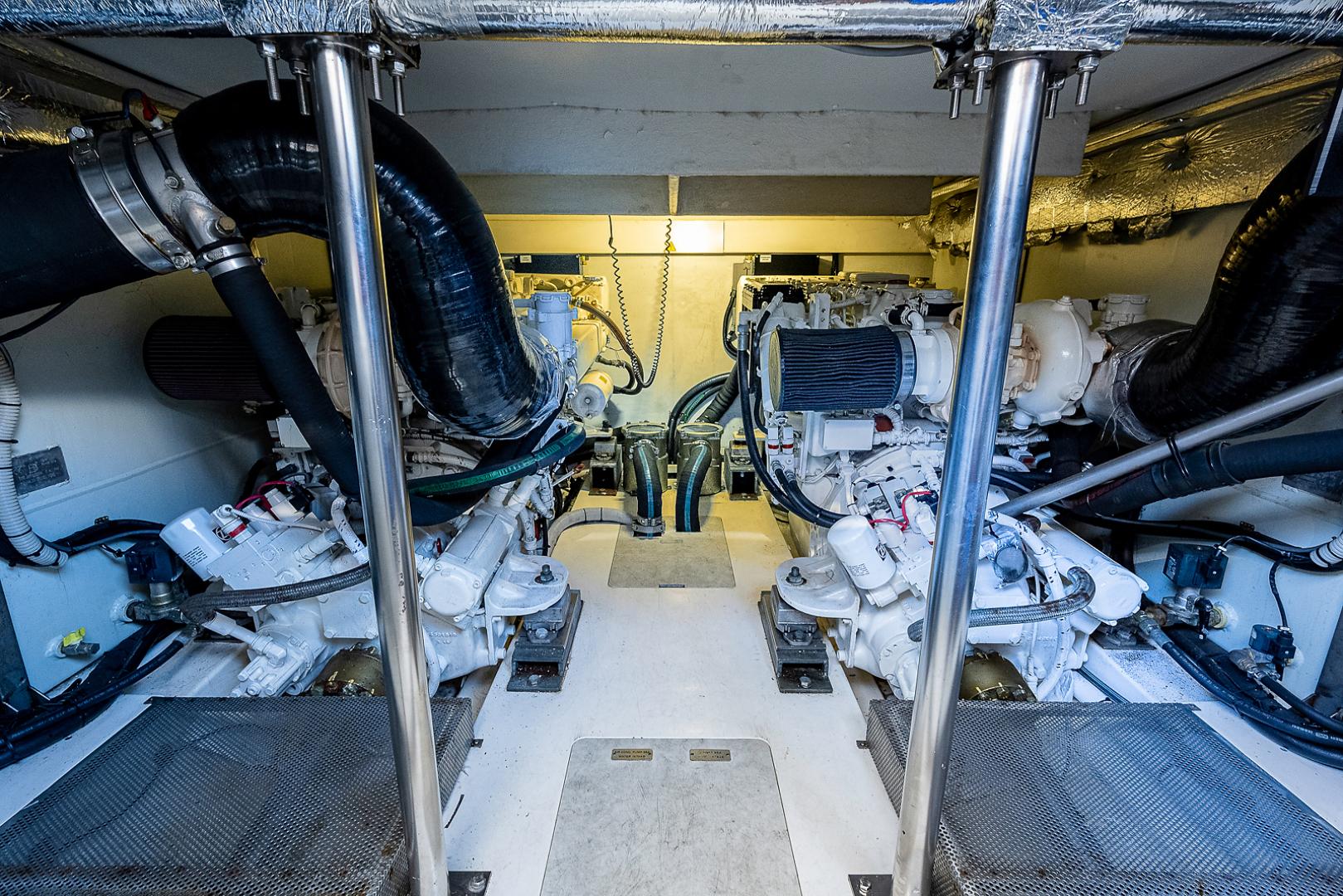 Azimut-58 Fly Motor Yacht 2011-Nova Fort Lauderdale-Florida-United States-58_azimut_nova__engine_room11-1490493 | Thumbnail