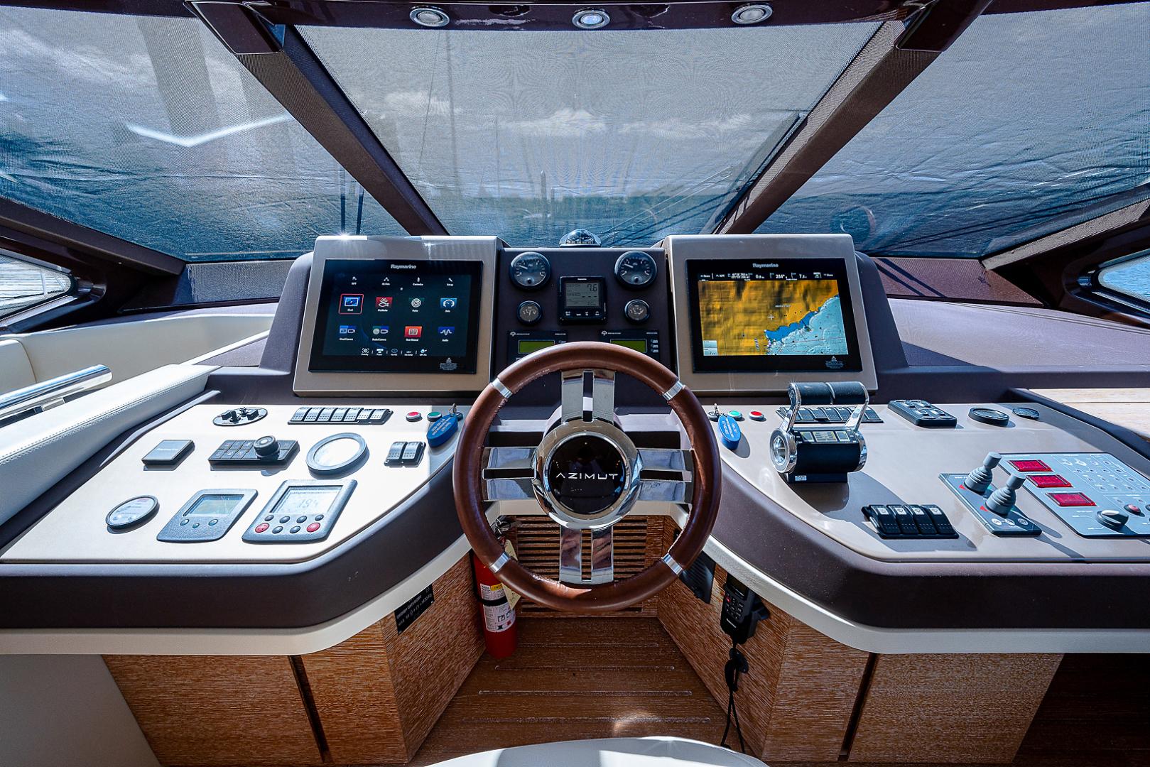 Azimut-58 Fly Motor Yacht 2011-Nova Fort Lauderdale-Florida-United States-58_azimut_nova__helm14-1490539 | Thumbnail
