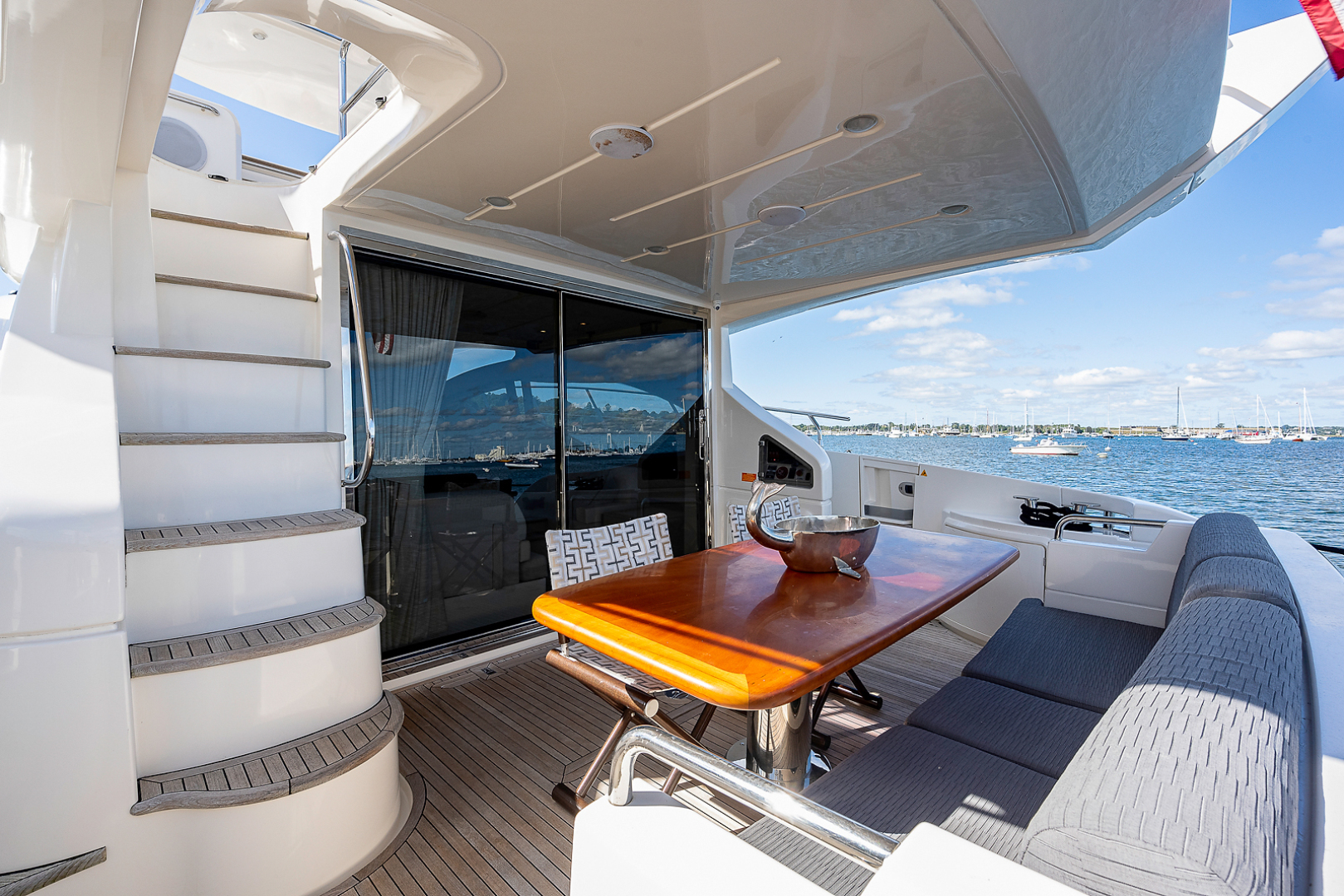 Azimut-58 Fly Motor Yacht 2011-Nova Fort Lauderdale-Florida-United States-58_azimut_nova__aft_deck13-1490484 | Thumbnail