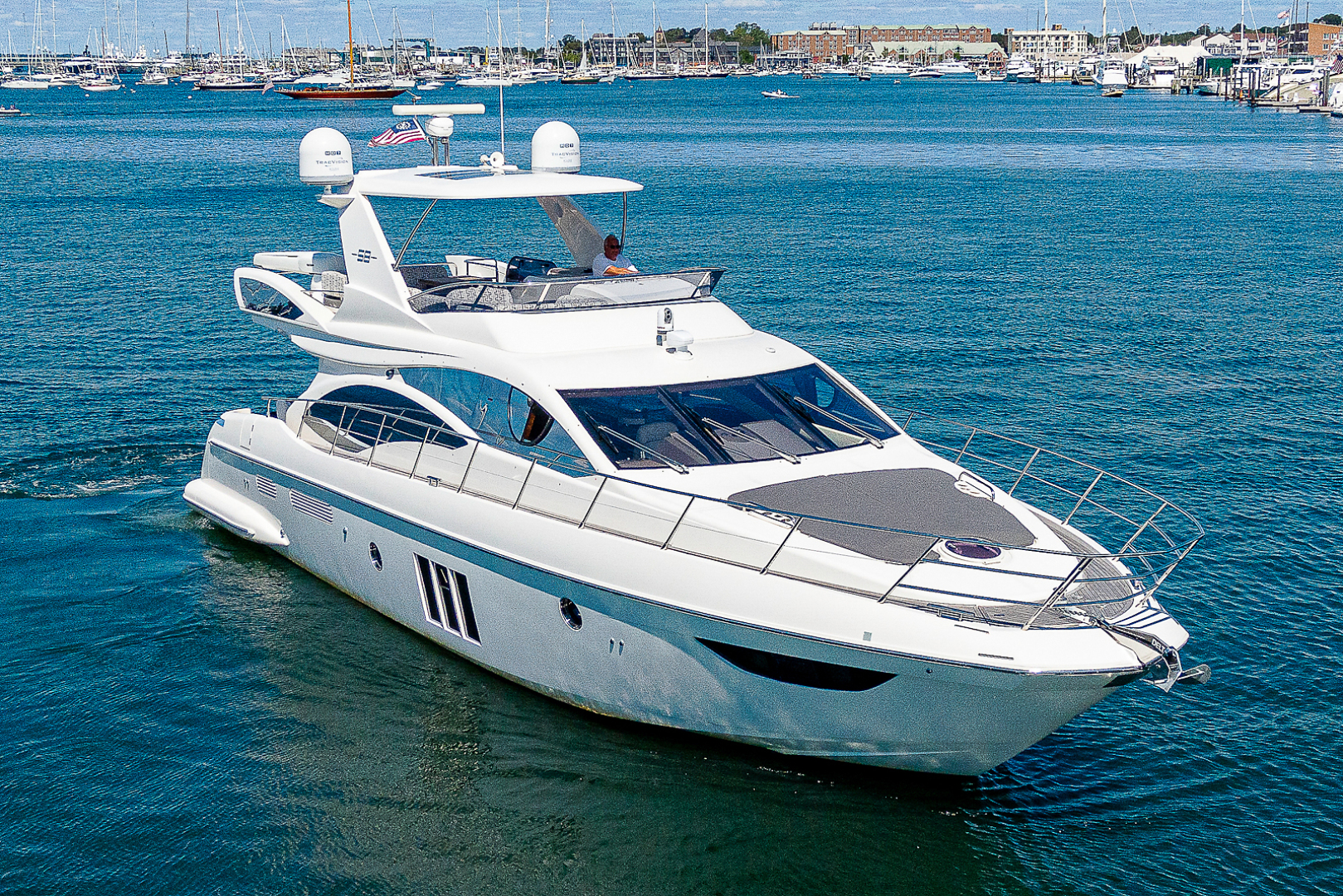Azimut-58 Fly Motor Yacht 2011-Nova Fort Lauderdale-Florida-United States-58_azimut_nova__aerials16-1490482 | Thumbnail
