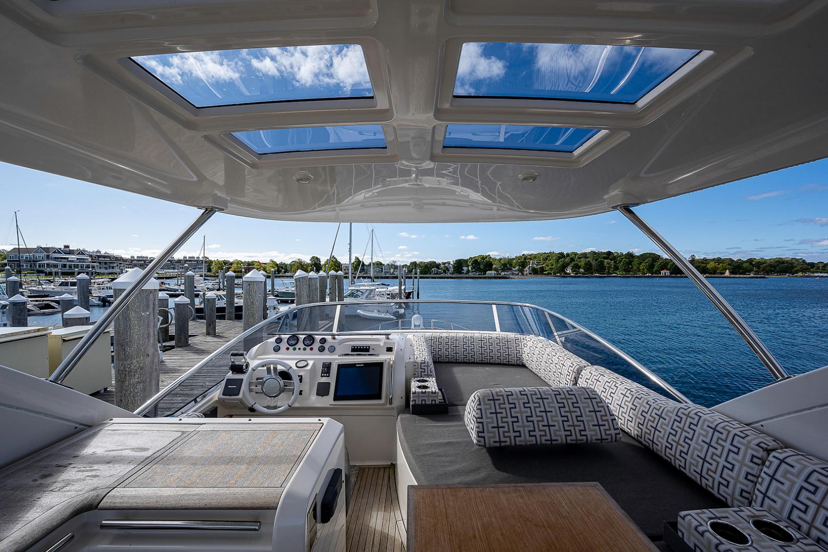 Azimut-58 Fly Motor Yacht 2011-Nova Fort Lauderdale-Florida-United States-58_azimut_nova__flybridge25-1490513 | Thumbnail