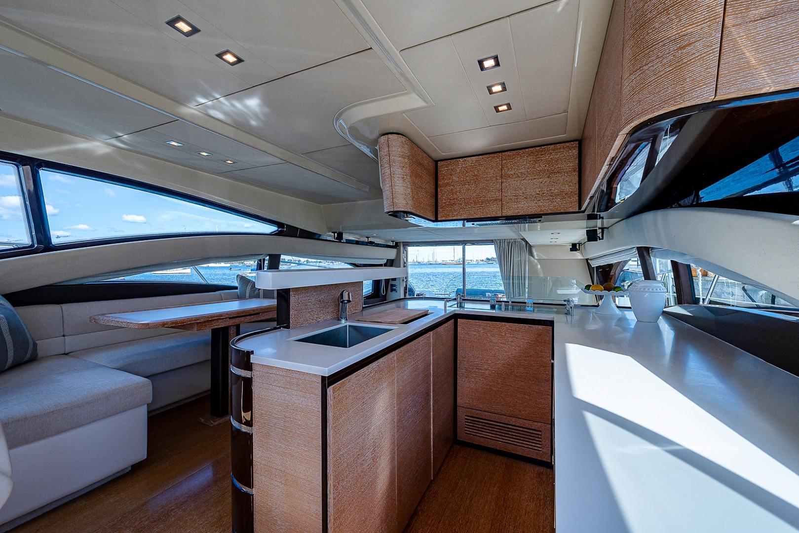 Azimut-58 Fly Motor Yacht 2011-Nova Fort Lauderdale-Florida-United States-58_azimut_nova__galley12-1490530 | Thumbnail