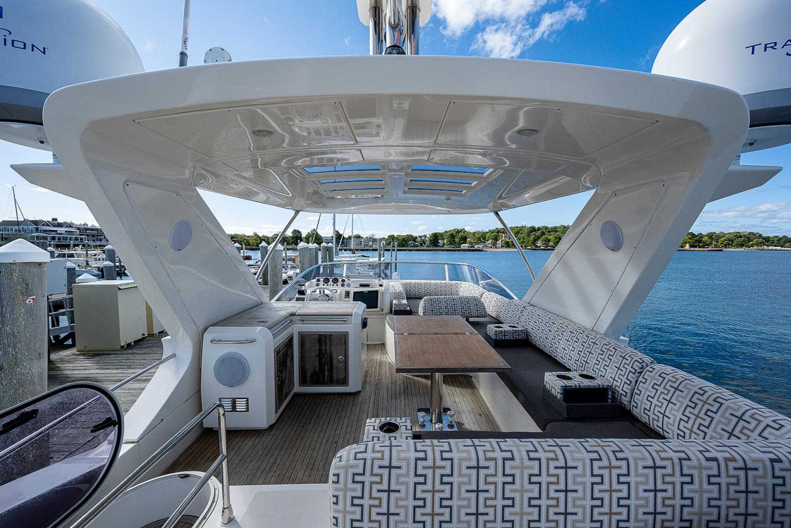 Azimut-58 Fly Motor Yacht 2011-Nova Fort Lauderdale-Florida-United States-58_azimut_nova__flybridge17-1490506 | Thumbnail