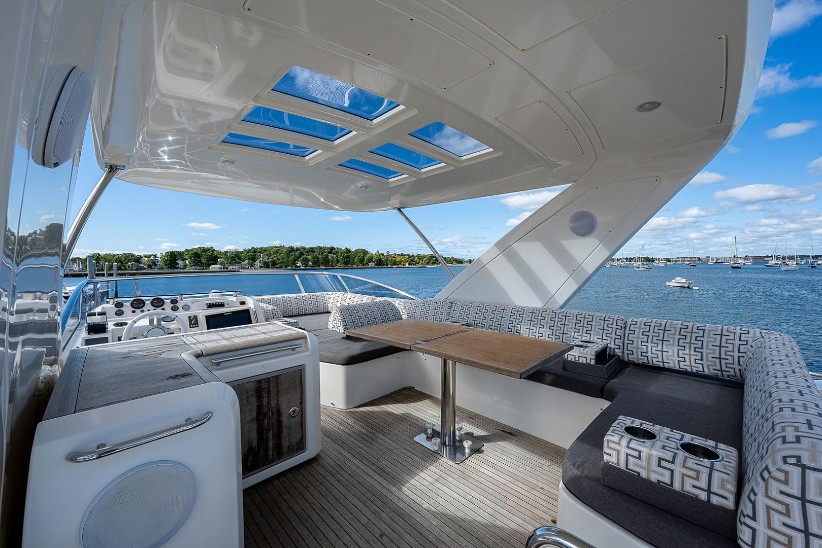Azimut-58 Fly Motor Yacht 2011-Nova Fort Lauderdale-Florida-United States-58_azimut_nova__flybridge19-1490508 | Thumbnail