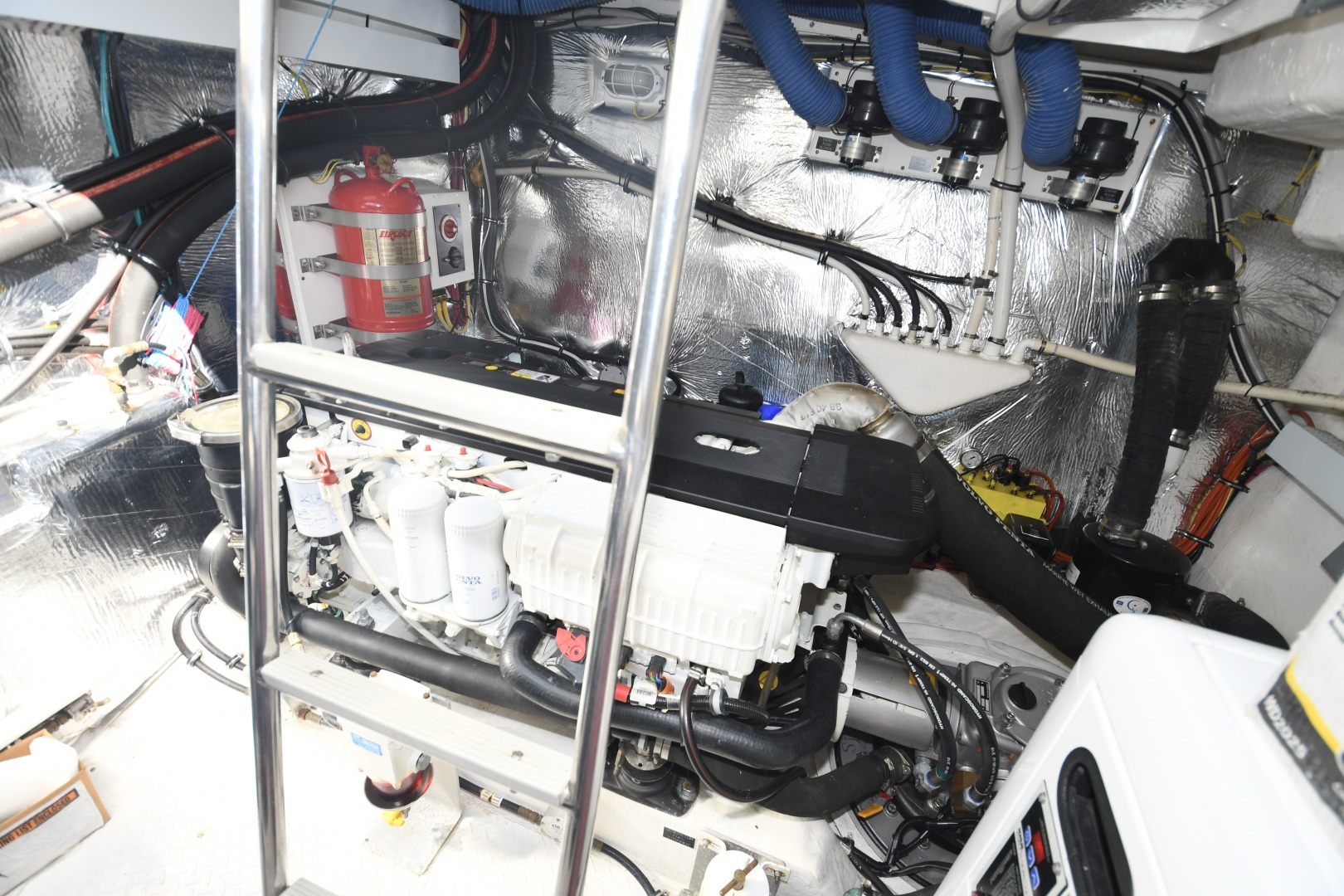 Cruisers-48 Cantius 2012-BELLE Tampa-Florida-United States-2012 48 Cruisers Yachts Cantius  BELLE  Engine Room-1482973 | Thumbnail