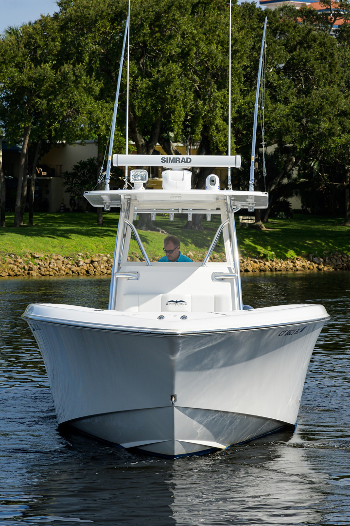 Invincible-Open Fisherman 2017-Y KNOT North Palm Beach-Florida-United States-Bow Profile-1510192 | Thumbnail