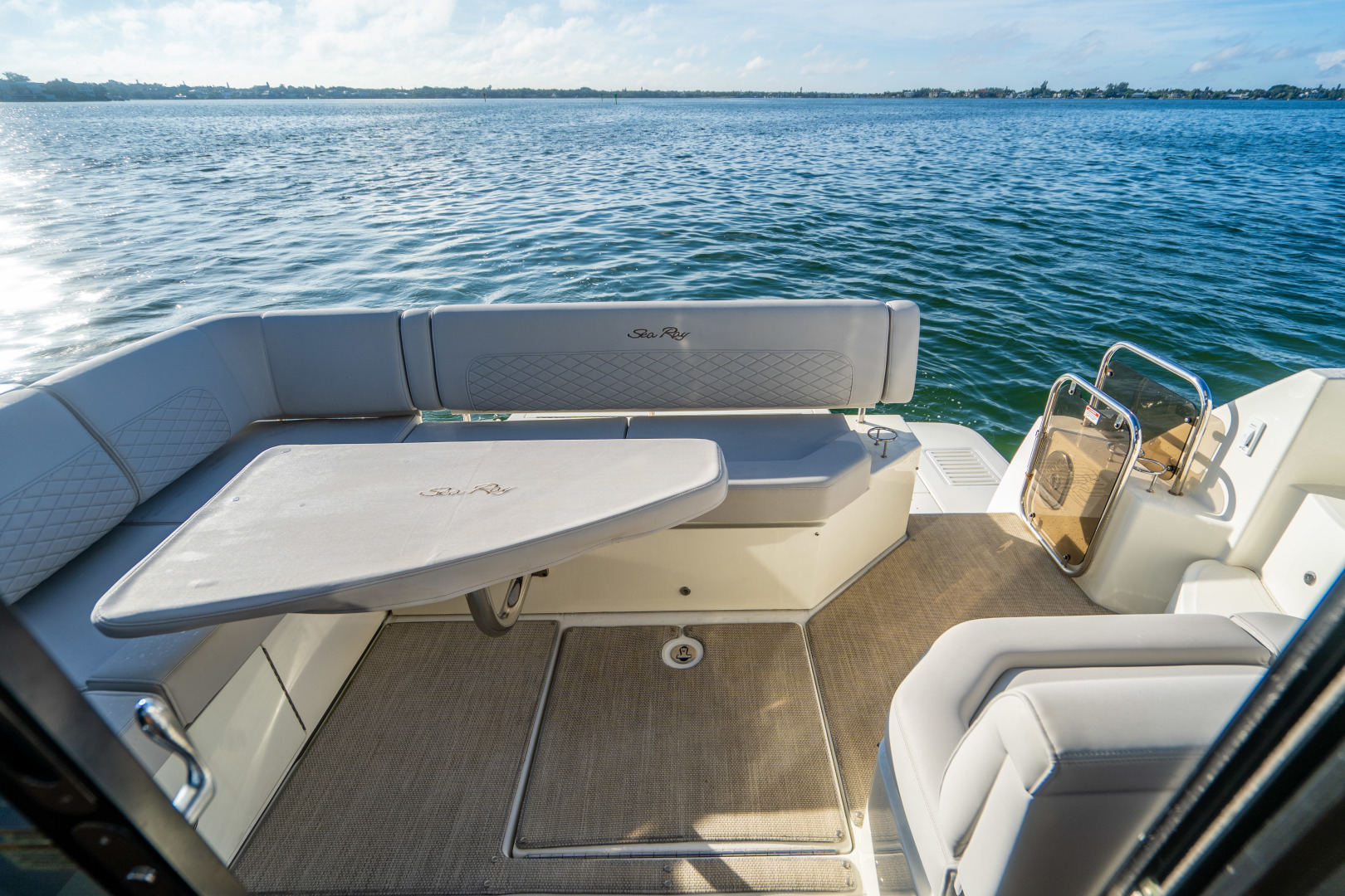 Sea Ray-460 DA 2017-Joie De Vivre Sarasota-Florida-United States-46 Sea Ray Sundancer Aft Deck-1486526 | Thumbnail