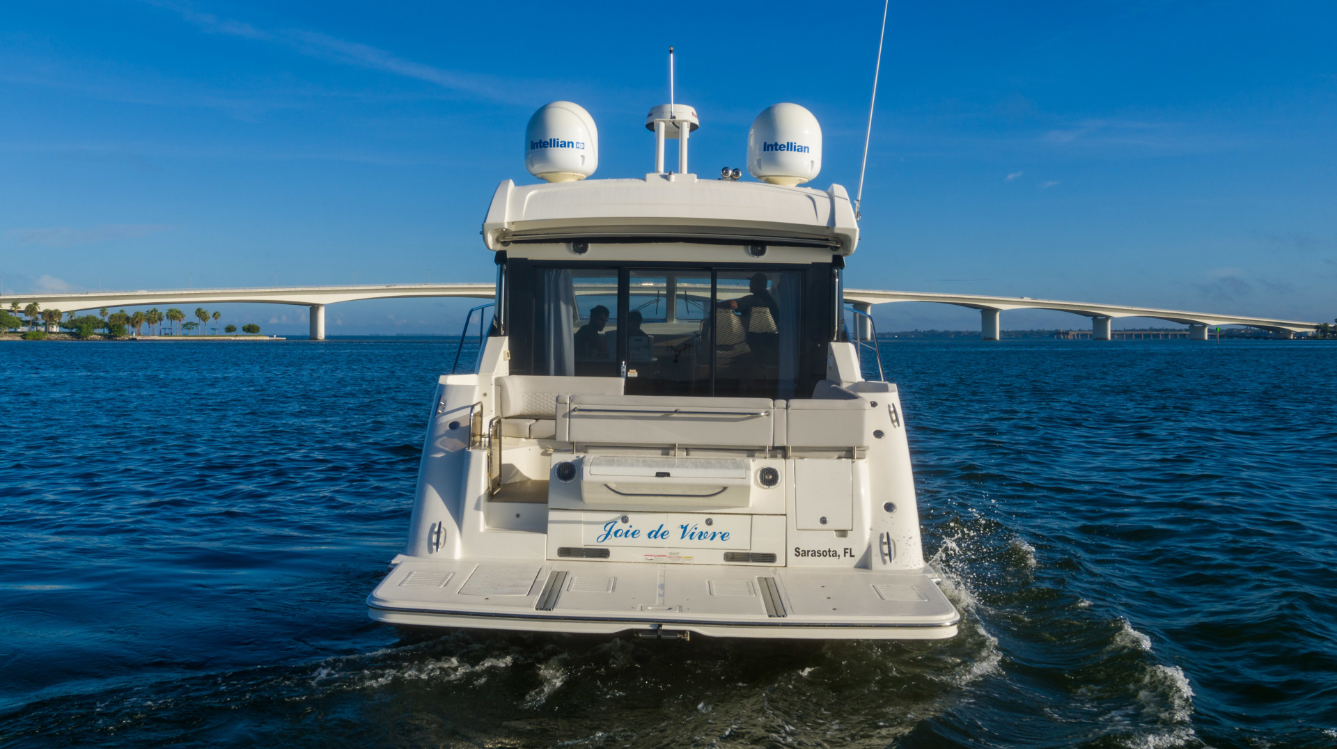 Sea Ray-460 DA 2017-Joie De Vivre Sarasota-Florida-United States-46 Sea Ray Sundancer Stern-1486461 | Thumbnail