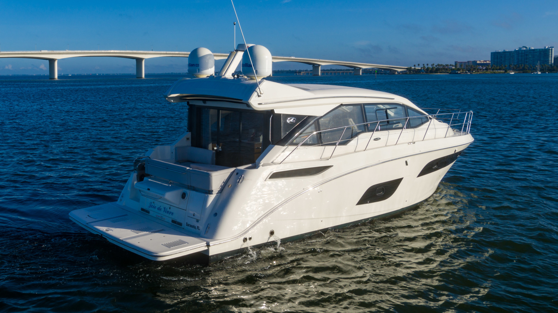 Sea Ray-460 DA 2017-Joie De Vivre Sarasota-Florida-United States-46 Sea Ray Sundancer-1486459 | Thumbnail