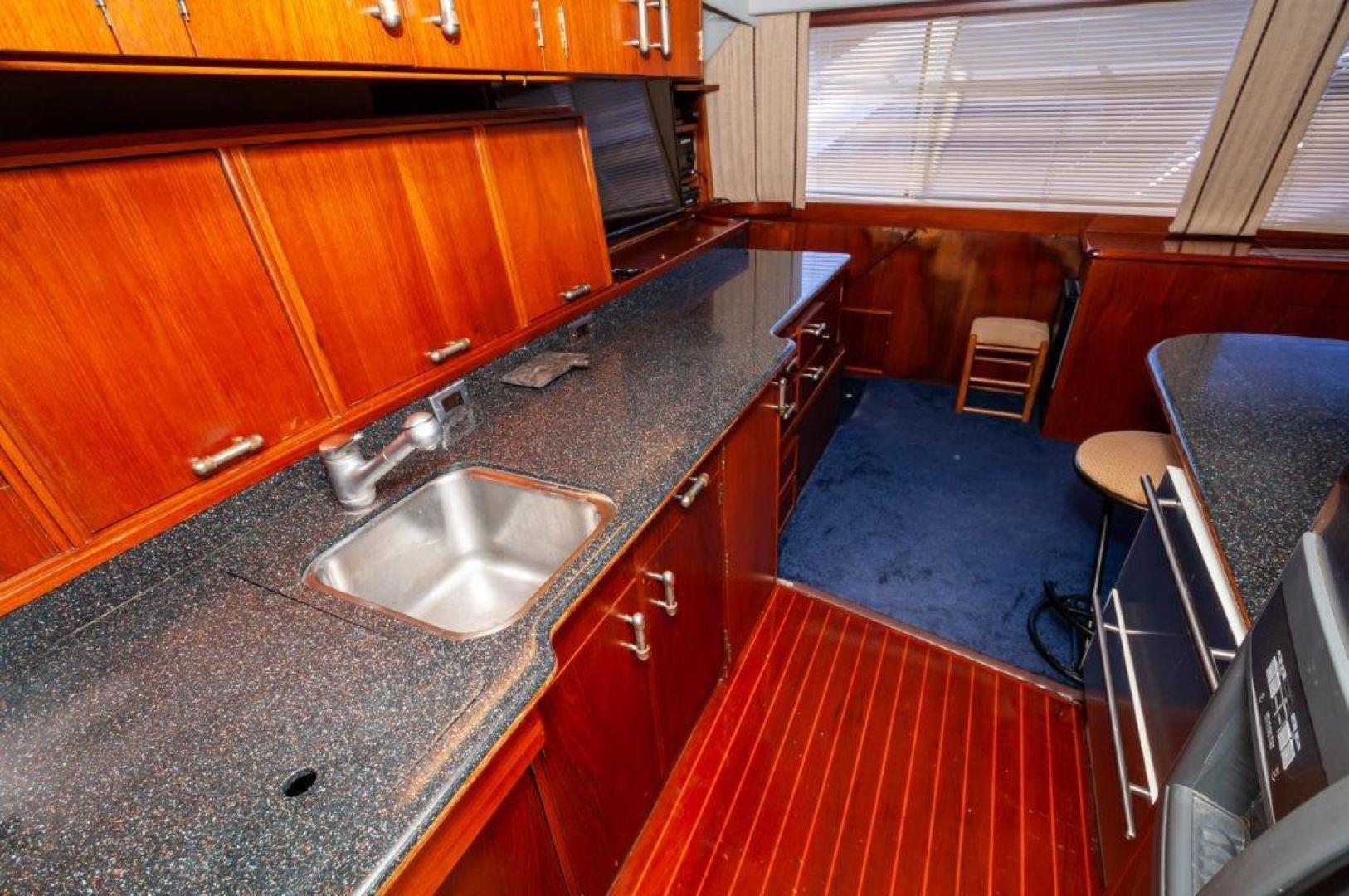 Ocean Yachts-63 Super Sport 1989-Reel Blue Sandestin-Florida-United States-1989 63 Ocean   Galley 4-1484530 | Thumbnail