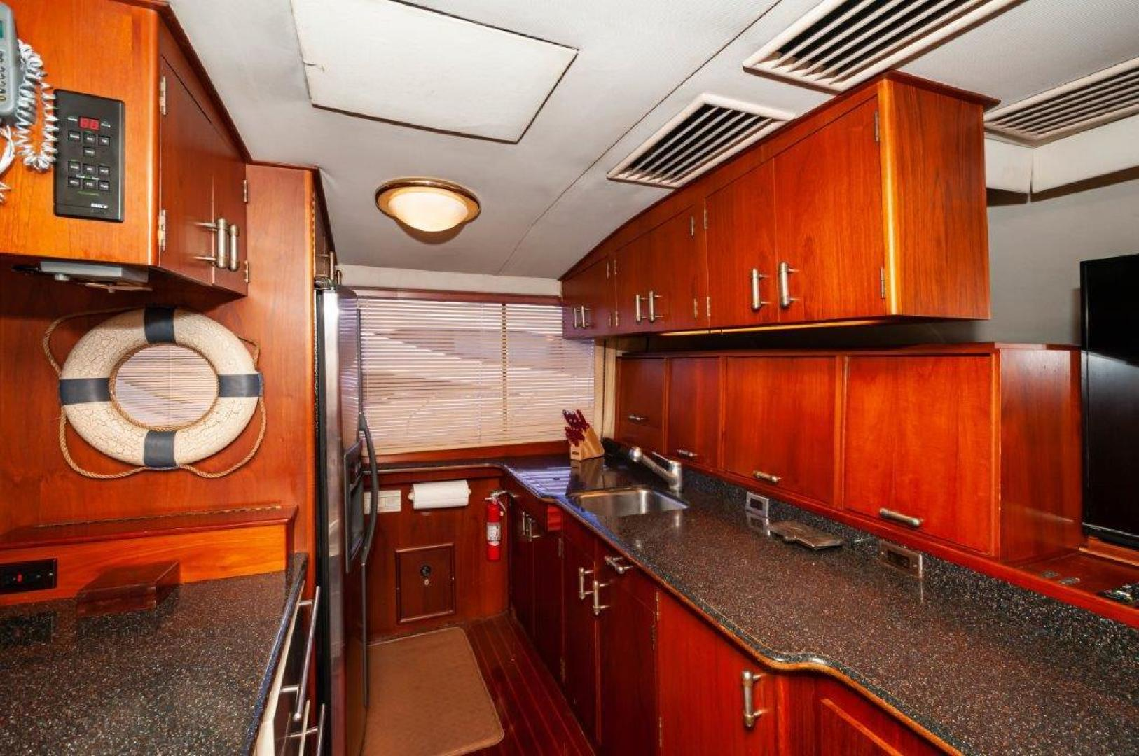 Ocean Yachts-63 Super Sport 1989-Reel Blue Sandestin-Florida-United States-1989 63 Ocean   Galley-1484527 | Thumbnail