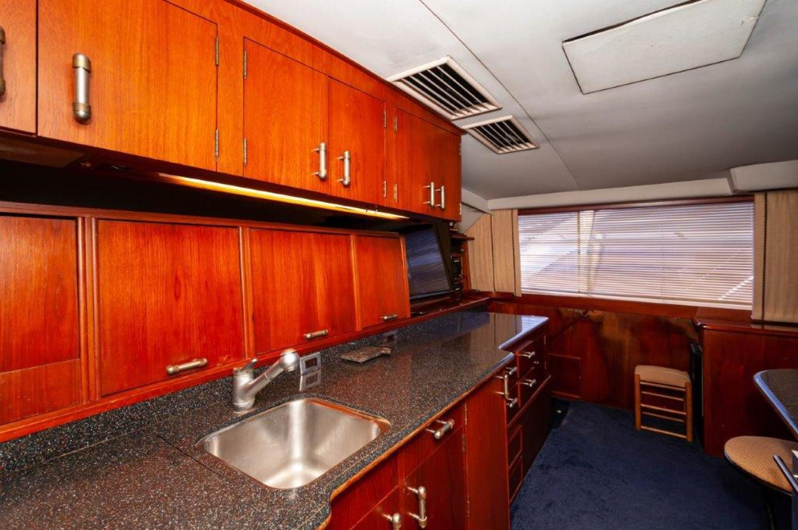 Ocean Yachts-63 Super Sport 1989-Reel Blue Sandestin-Florida-United States-1989 63 Ocean   Galley 5-1484531 | Thumbnail