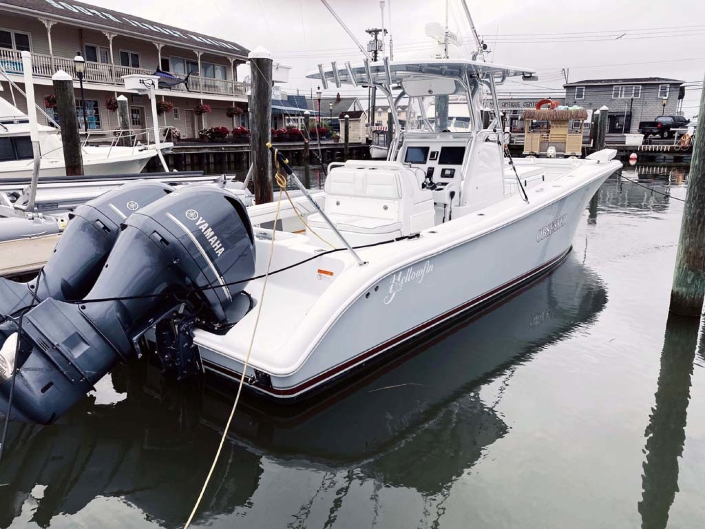 Yellowfin-32 Center Console 2017-Obsession Cape May-New Jersey-United States-Starboard Aft View-1484677 | Thumbnail
