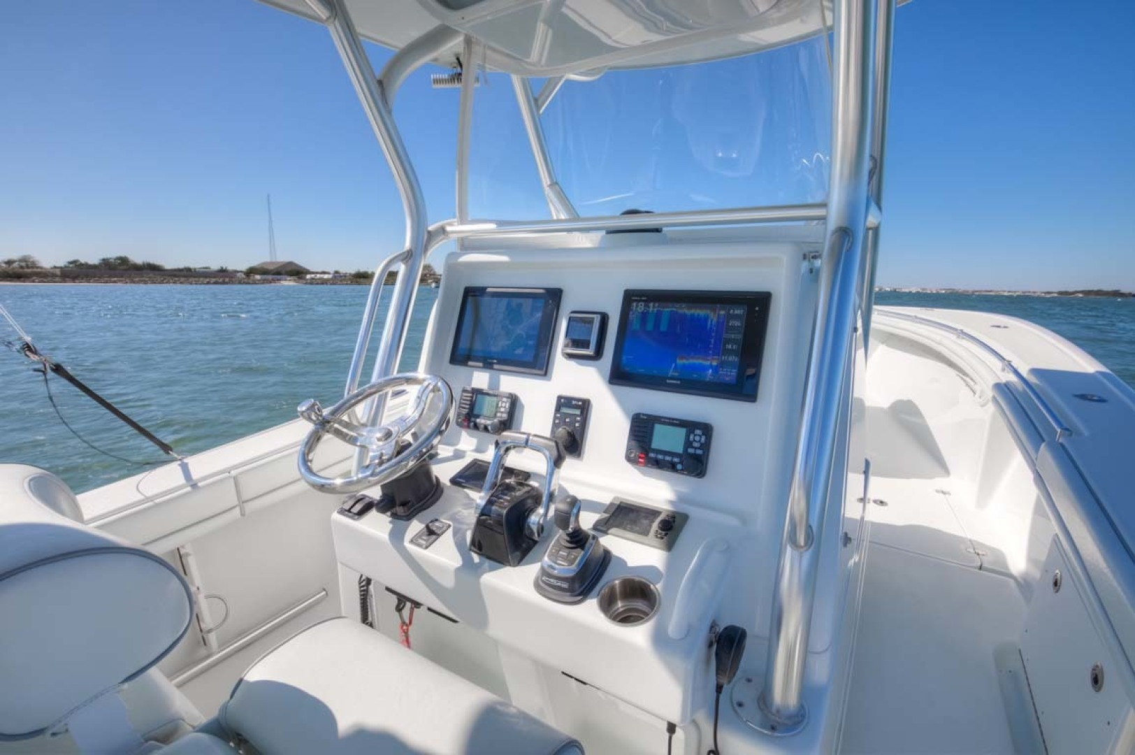 Yellowfin-32 Center Console 2017-Obsession Cape May-New Jersey-United States-Helm-1511926 | Thumbnail